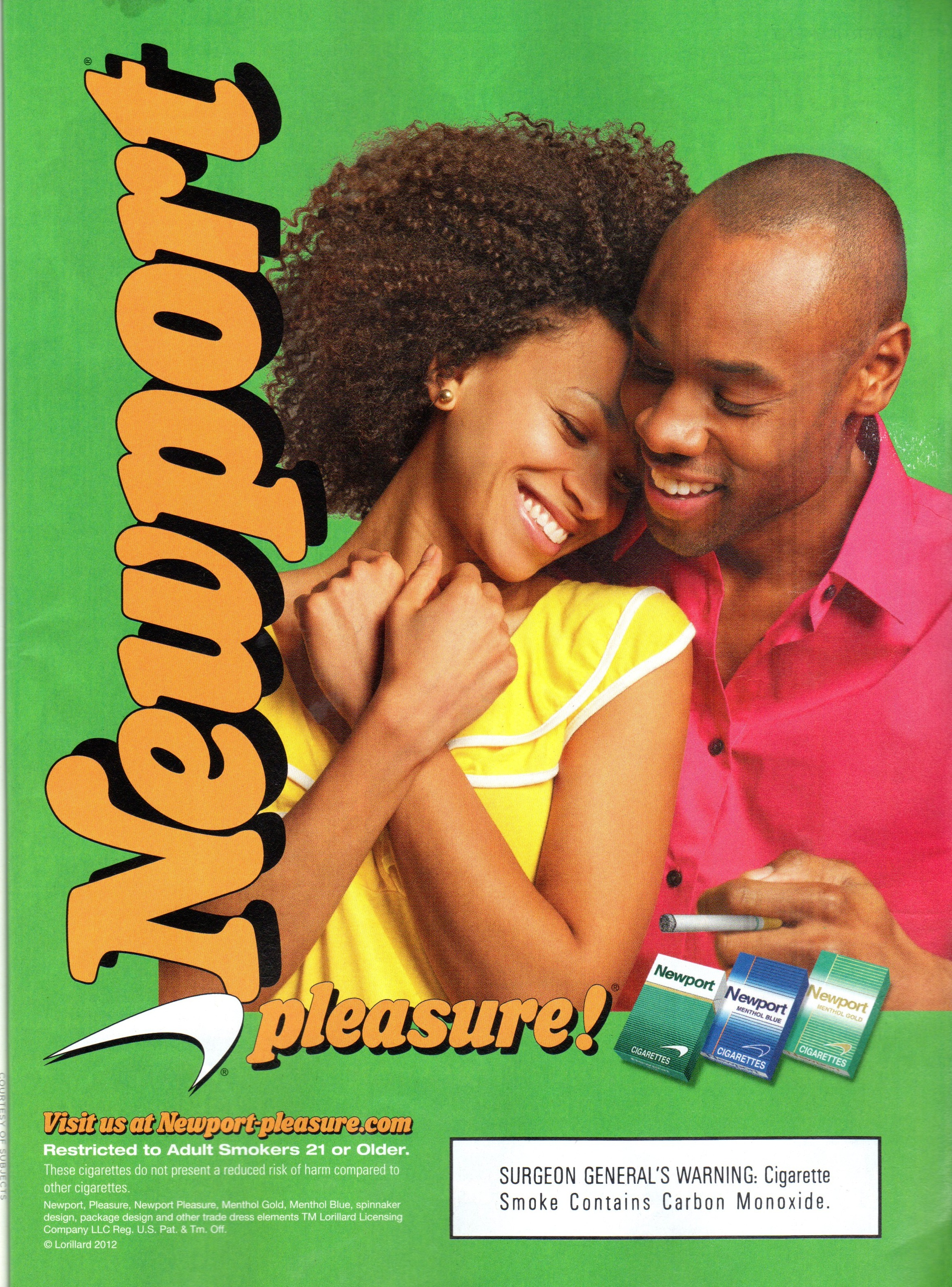 Newport Cigarettes Advertisement in Essence | Natural Hair ...