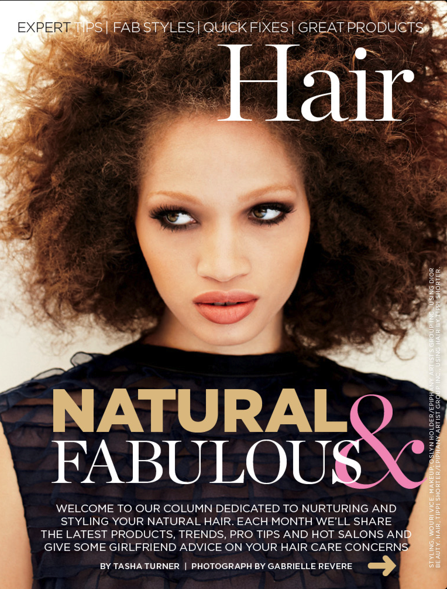 Essence's Monthly Natural Hair Column
