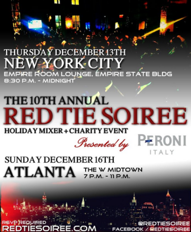 red tie soiree